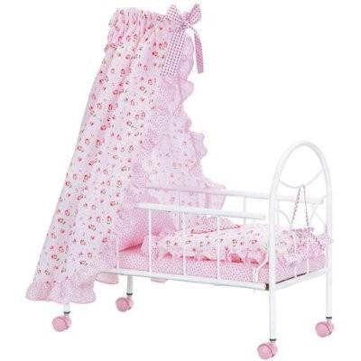 Corolle H3704 Puppen Wiege Bett Blumen Spielwaren
