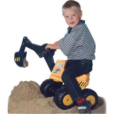 sitzbagger mobby dig kindergarten spielzeug spielwaren ab 2 jahre f r drau en. Black Bedroom Furniture Sets. Home Design Ideas