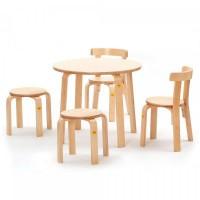erzi 50068 sitzgruppe 52 2 aus formholz spielwaren kindergarten aktivm bel. Black Bedroom Furniture Sets. Home Design Ideas