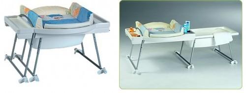geuther bade wickel kombination aqualino mit badewanne design 17 baby mehr. Black Bedroom Furniture Sets. Home Design Ideas