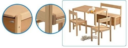 Kindermöbel tisch und stühle  GEUTHER - KINDERMÖBEL SET S, Stuhl & Tisch & Truhe BABY & MEHR ...
